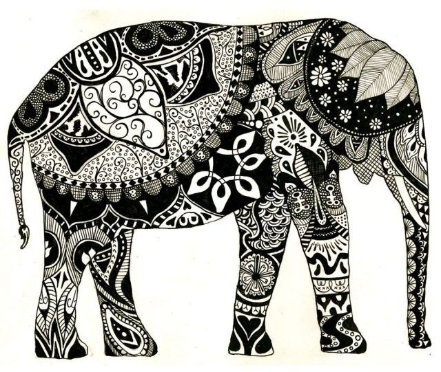 elephant designs tumblr - photo #1