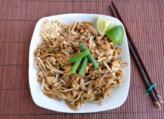 Shirataki Pad Thai!  Noodle Recipes: The No-Carb Pasta