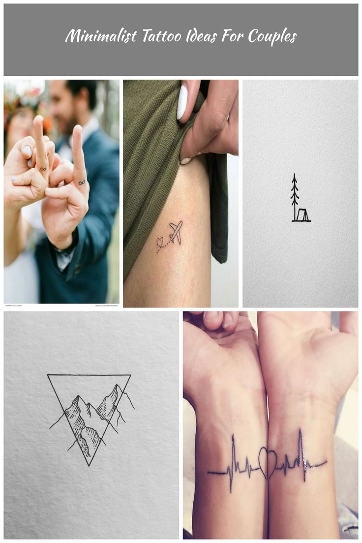 Minimalist Tattoo Ideas For Couples – Page 18 of 20 – Sumcoco Blog minimalist ta…