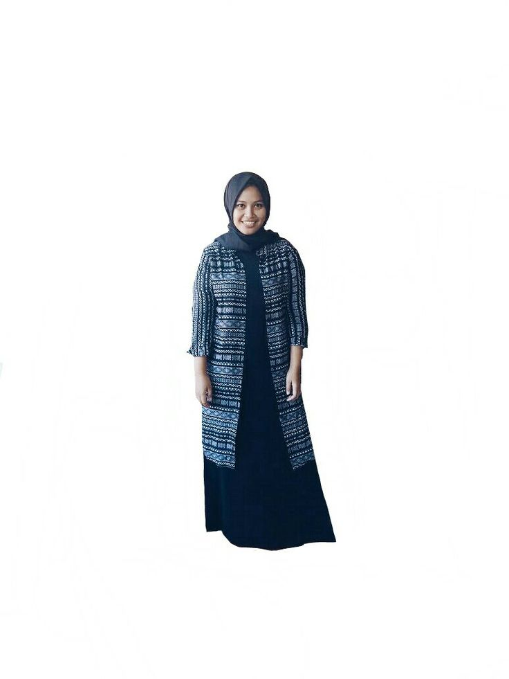 Black is my color. #blackhijab #blacktribal #tribal #moslemwear