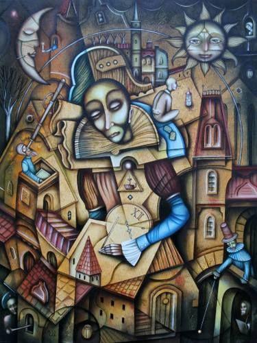 "Saatchi Art Artist Eugene Ivanov; Painting, ""Most Serene Republic"" #art"