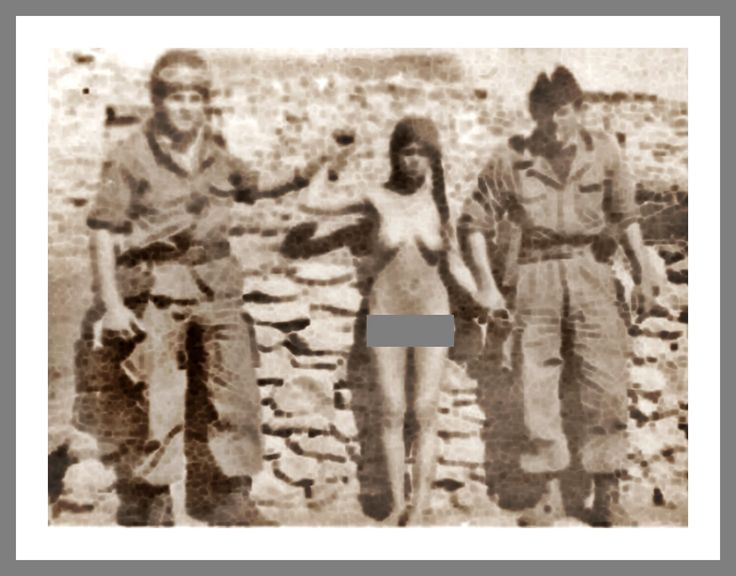 Guerre d'Algérie ( Viol et humiliation d'une villageoise algérienne )