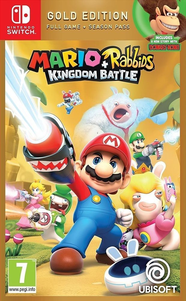 5317637aac8a Mario + Rabbids Kingdom Battle Gold Edition (NINTENDO SWITCH) NEW SEALED