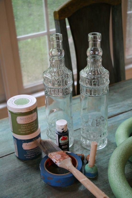 6388 best dollar store crafts images on pinterest for Diy crafts with glass jars and bottles