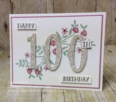 Welcome to another week of WWYS! Today is a special day... it's our 100th stamp set we have used and shared here on this blog!   To celebrat...