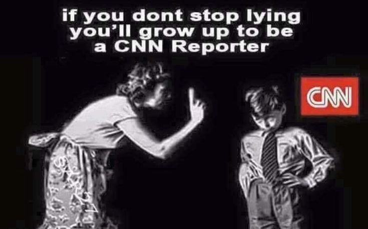 Parents remind your children not to lie, or they could grow up to be a CNN reporter #FakeNews