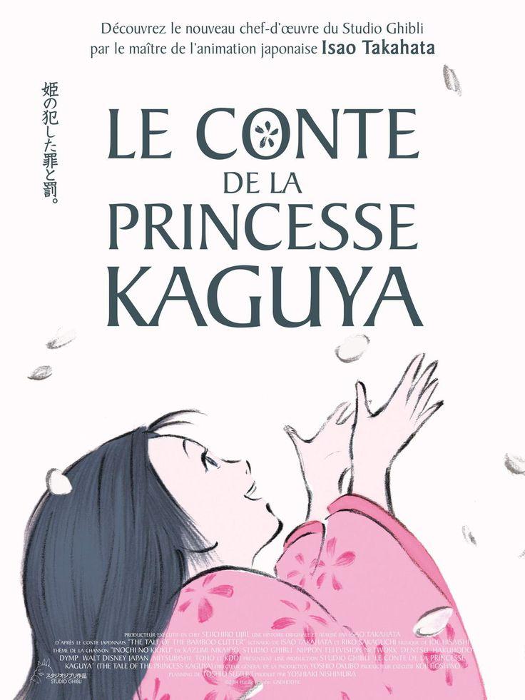 #affiche #film #cinema #japon _ Le conte de la princesse Kaguya