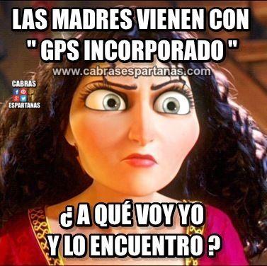 GPS incorporado las madres lo tienen