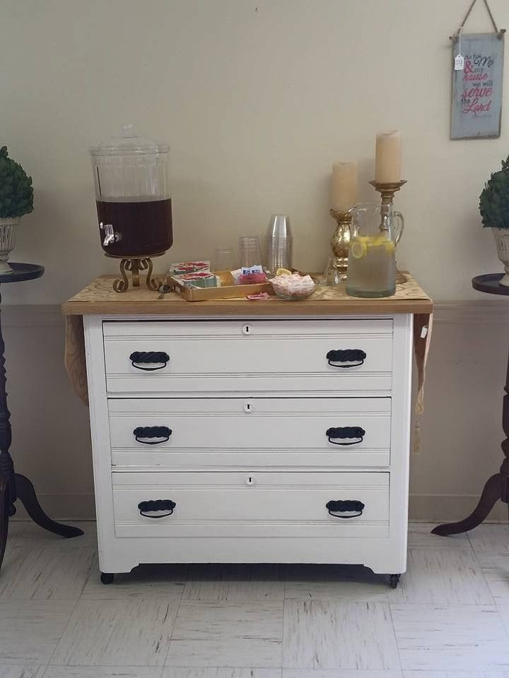 We Transformed This Vintage Dresser Into A Great Small Kitchen Island Cart On Wheels 250 My