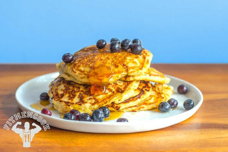 Try this Cottage Cheese Pancakes from the FitMenCook app