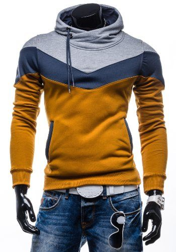 BOLF Herren Kapuzenpullover Sweatshirt Sweatjacke Hoodie Pulli Pullover 3409