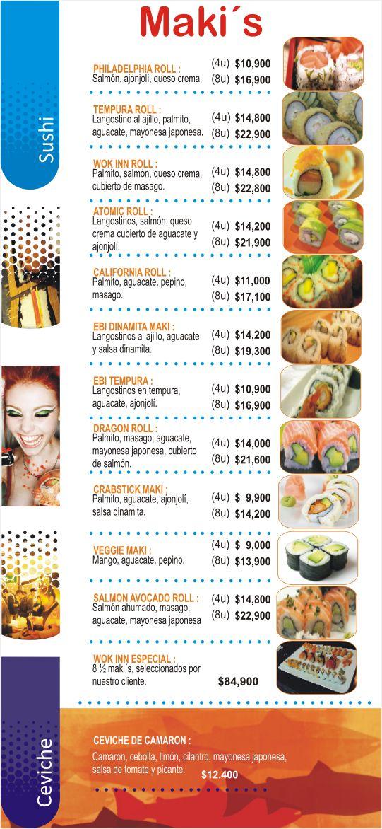 Carta sushi
