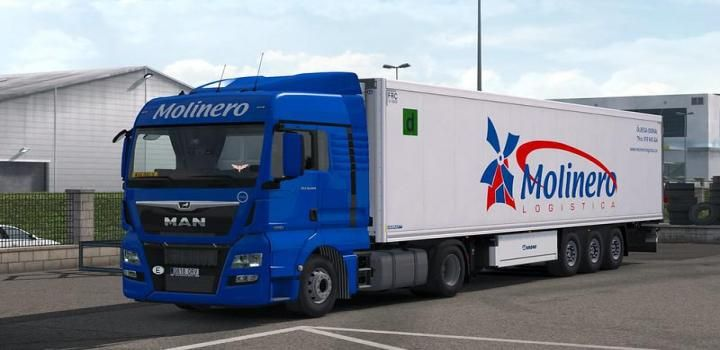 Ets2 Molinero Skinpack V1 0 1 36 X American Truck Simulator Trucks Truck And Trailer