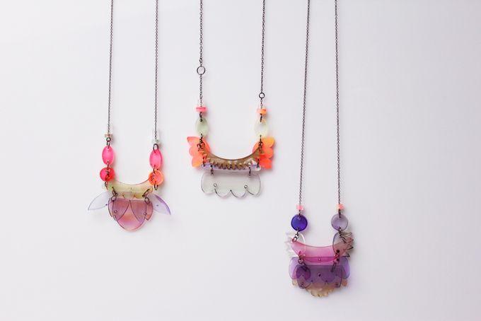 plexi necklaces