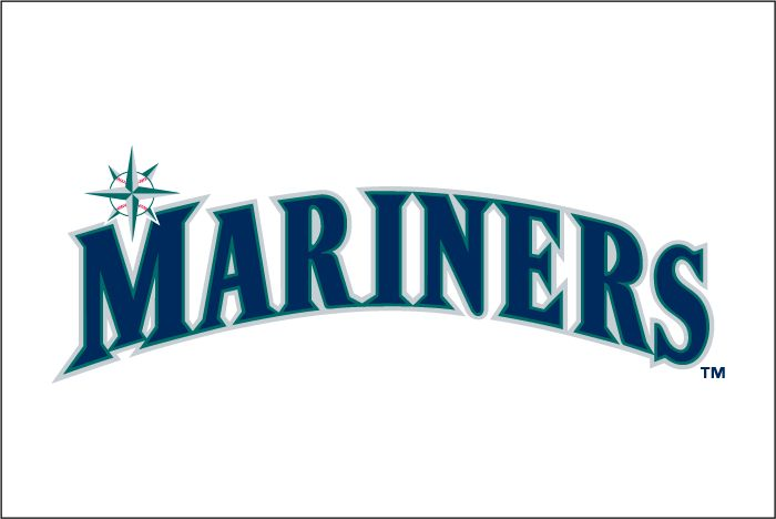 Seattle Mariners Wordmark Logo 1993 Mariners Seattle Mariners Seattle Mariners Logo