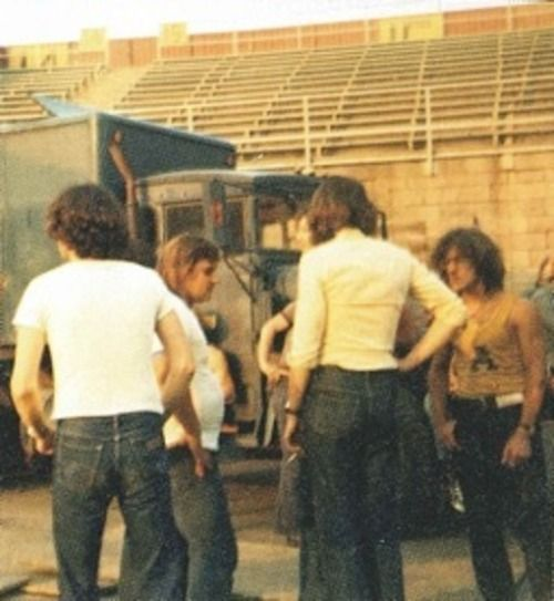 "more-relics: ""Nick Mason & Roger Waters Pink Floyd ""Wish You Were Here Tour' 1975. """