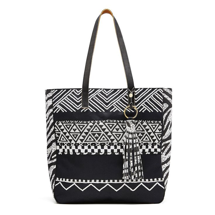 Designed in Melbourne, created in Kenya, the Afrigraphico Tote incorporates traditional Maasai hand-beading and artisan silk-screening with a futuristic, geometric pattern and motif hand-sketched by MIMCO designers.   Crafted lovingly in Africa for MIMCO,this piece has been created in collaboration EFI, and celebrates the very real talent of local artisans.