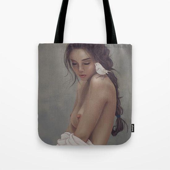 Pettirosso Tote Bag by Claudio Nozza Art | Society6