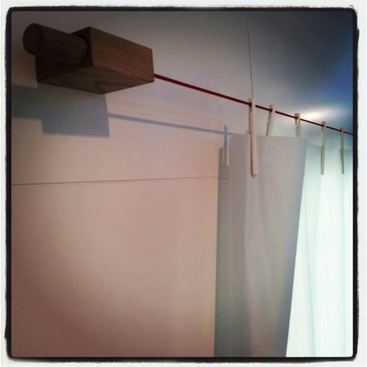 Ready Made curtain by Bouroullec for Kvadrat #IMM2013