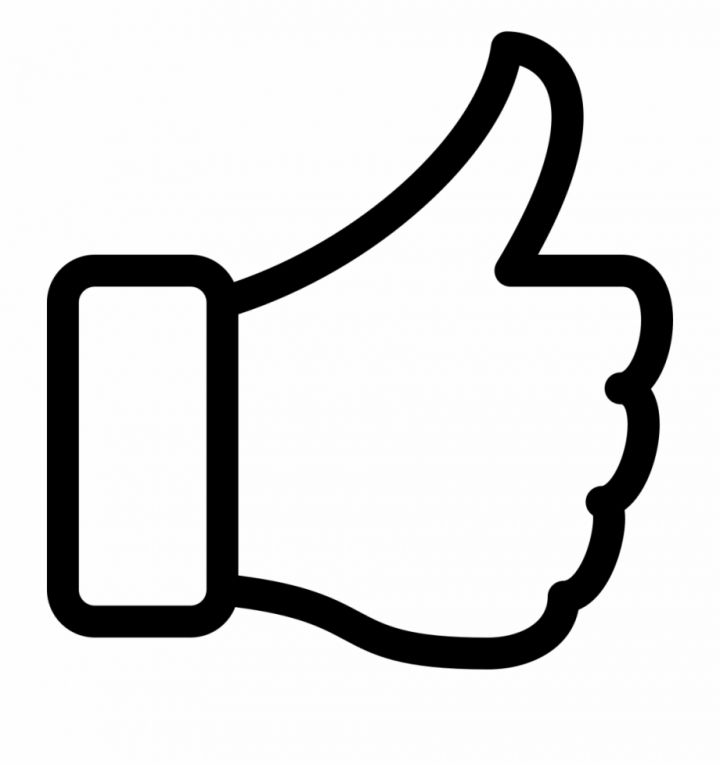 46++ Clipart thumbs up black and white ideas