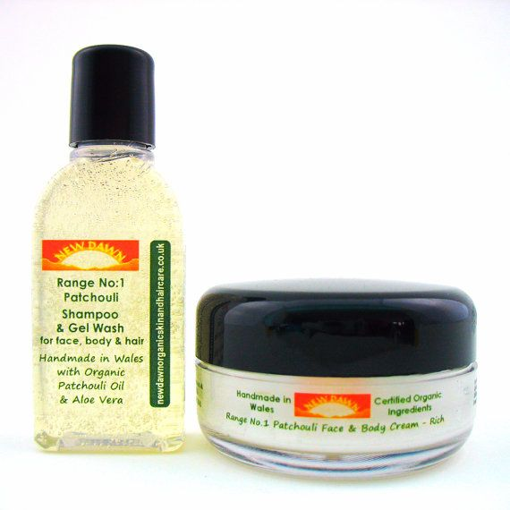 Acne Scars Cream & Wash Sample Pack for Dry by NewDawnOrganicSkin