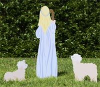 Apowerful and elegant message for yourhomeor church, the complete outdoor nativity set is never out of fashion.…
