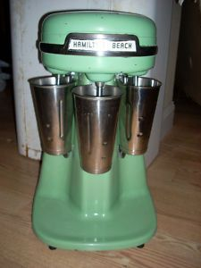 Loved the whirring and swirling racket when all three were going at once! Great Milk Shakes machine!