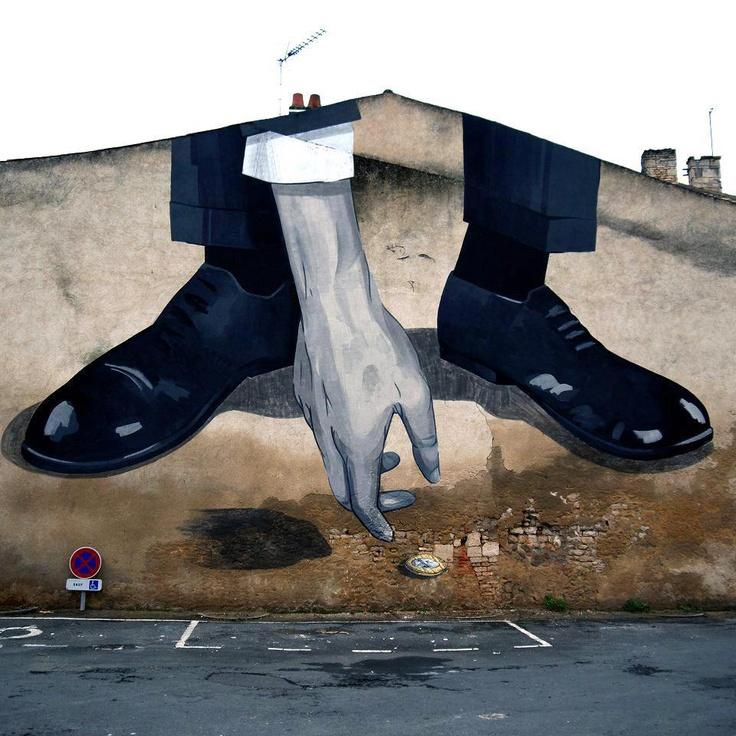 #Escif Streetart urban