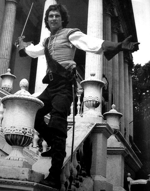 Jeremy in a version of 'The Three Musketeers'