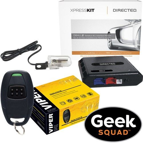 Viper - Remote Start System and Geek Squad Installation Package - Larger Front