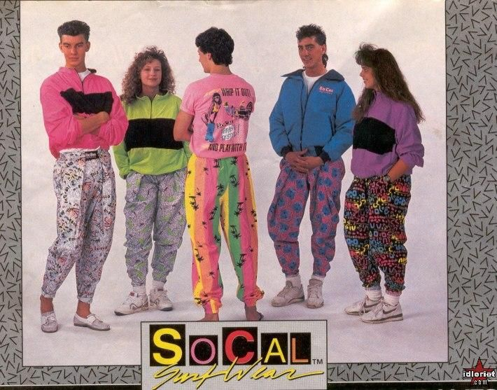 90s fashion.  plus this site: http://answers.yahoo.com/question/index?qid=20080825143534AAtYZlw  has some fun 90s references