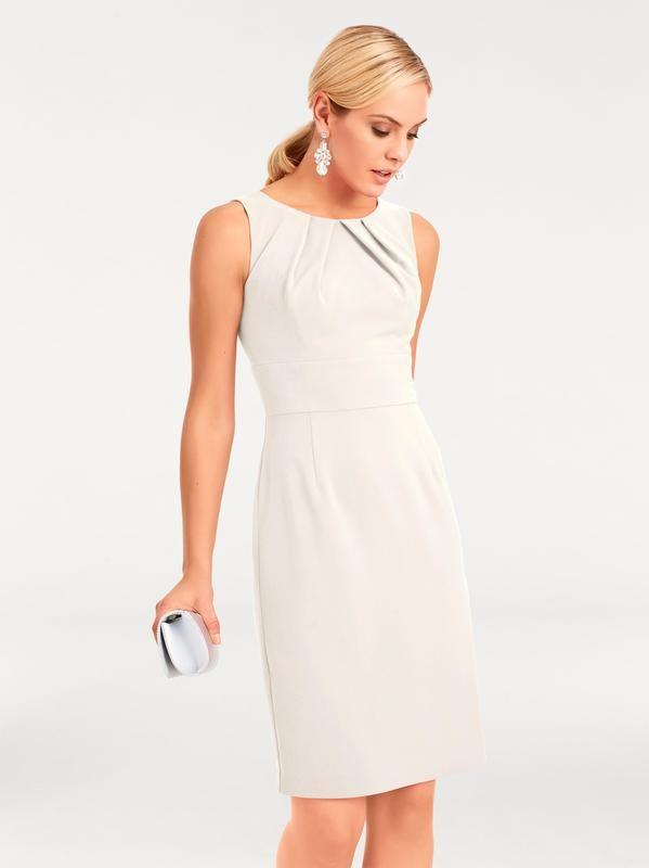 heine Etuikleid in weiß | Etuikleid, Kleidung und Kleider