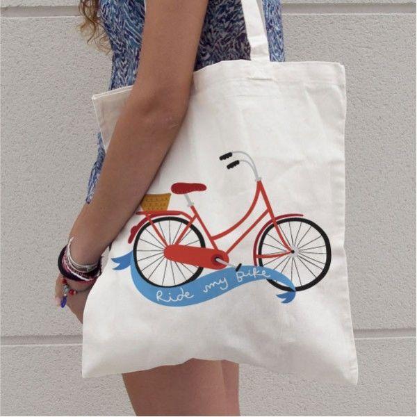 Fancy #bicycle bag