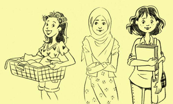 Book Illustration by Upit Dyoni at Coroflot.com