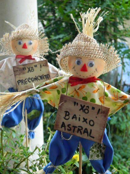 festa junina jardins : festa junina jardins:Espantalho De Decoracao Para Mesa