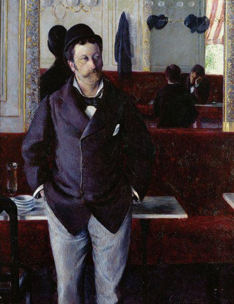 Gustave Caillebotte-In einem Café