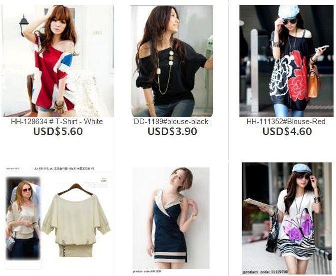 7 Tiendas Online de Ropa de Moda de China: