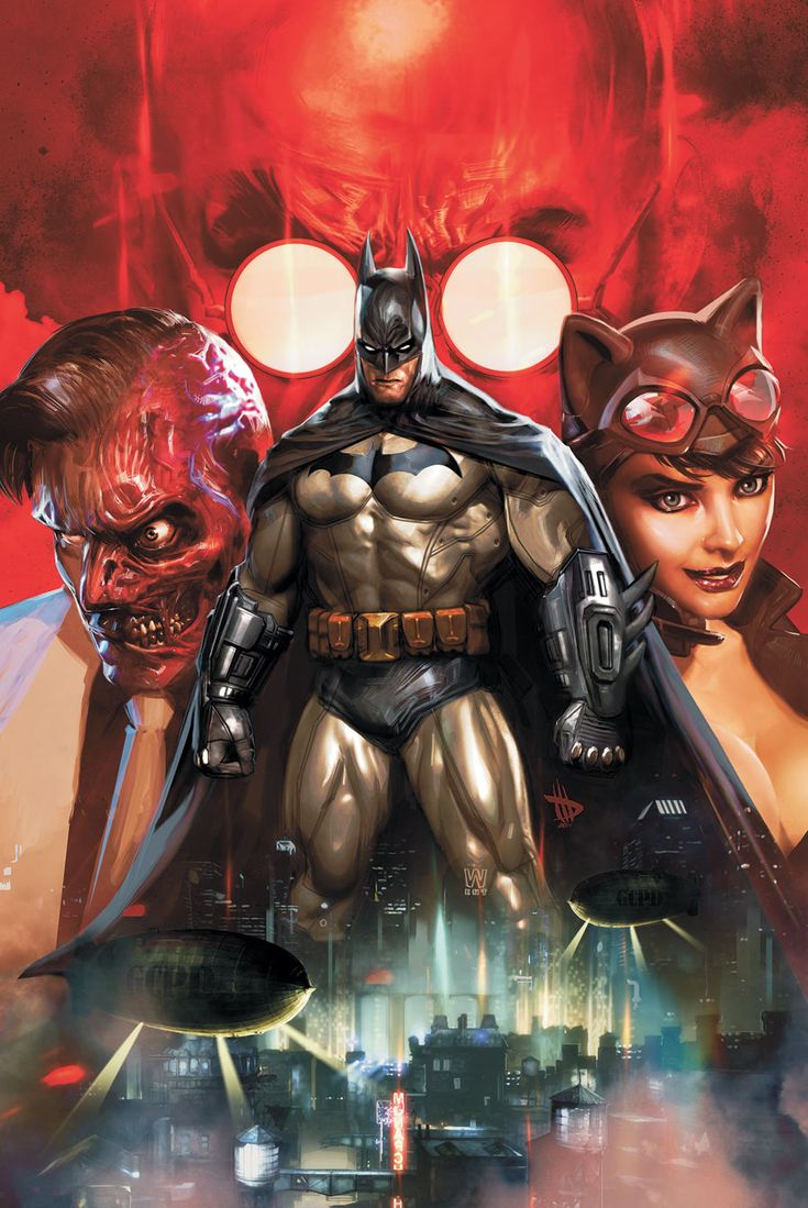 BATMAN: ARKHAM UNHINGED HC by Comic Artist Dave Wilkins #Illustration #Drawing #Comics