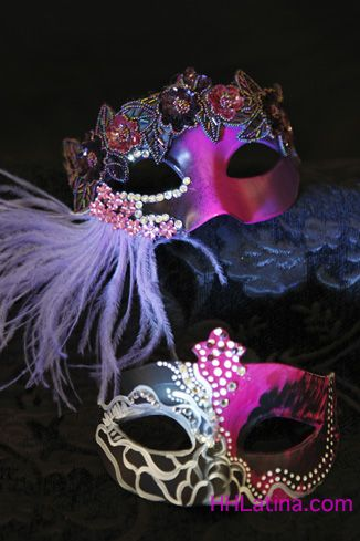 Quinceanera mask