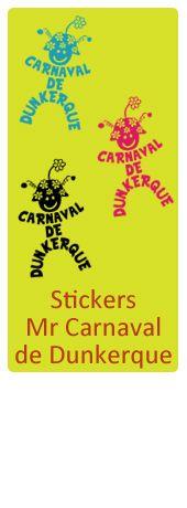 Les Stickers Mr Carnaval de Dunkerque