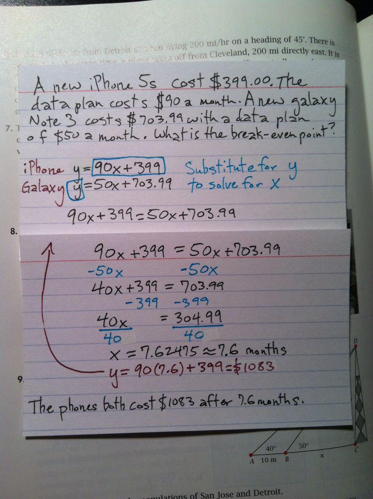 System of linear equations in slopeintercept form plus