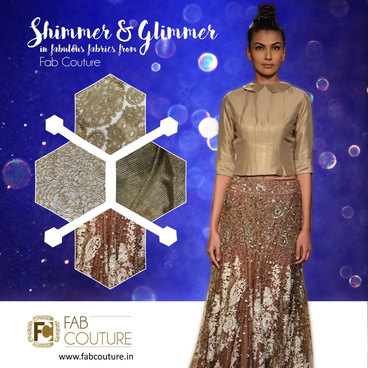 Have your own Shimmer and Glimmer #Stylish #designer #collection at #FabCouture! #DesignerFabric at #AffordablePrices.  Buy your stock of fabric from:https://fabcouture.in/embroidered-indian-fabrics.html #ManishMalhotra #DesignerDresses #Fabric #Fashion #DesignerWear #ModernWomen #Embroidered #WeddingFashion #WesternLook #affordablefashion #GreatDesignsStartwithGreatFabrics #LightnBrightColors #StandApartfromtheCrowd #EmbroideredFabrics
