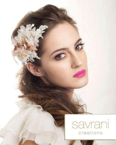 Savrani Creations: Νυφικά Αξεσουάρ Collection 2014