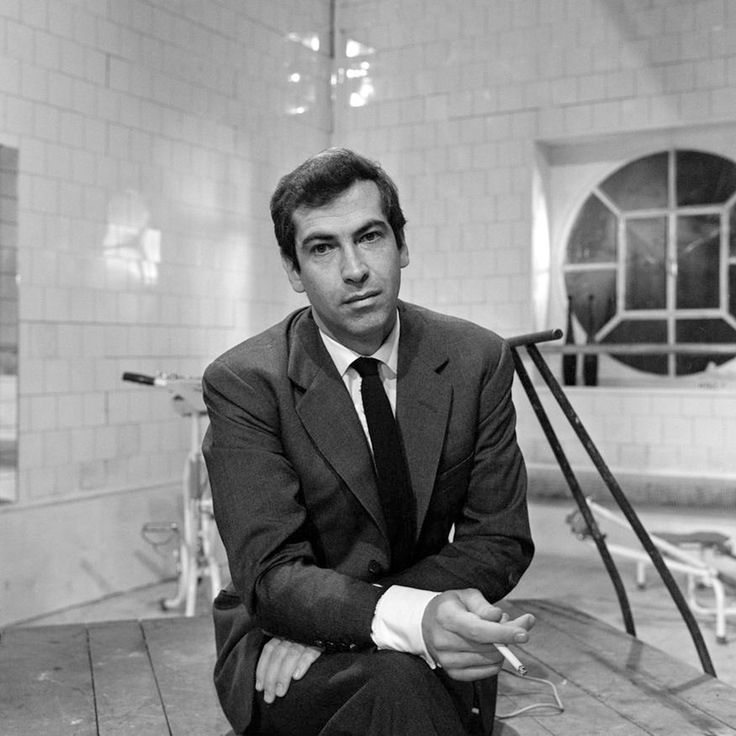 "#RogerVadim on ""La Curée"" set 1966 -- #BlackTie"