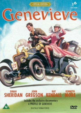 Genevieve (1953) starring Kenneth More, John Gregson, Dinah Sheridan & Kay Kendall.  Love this film