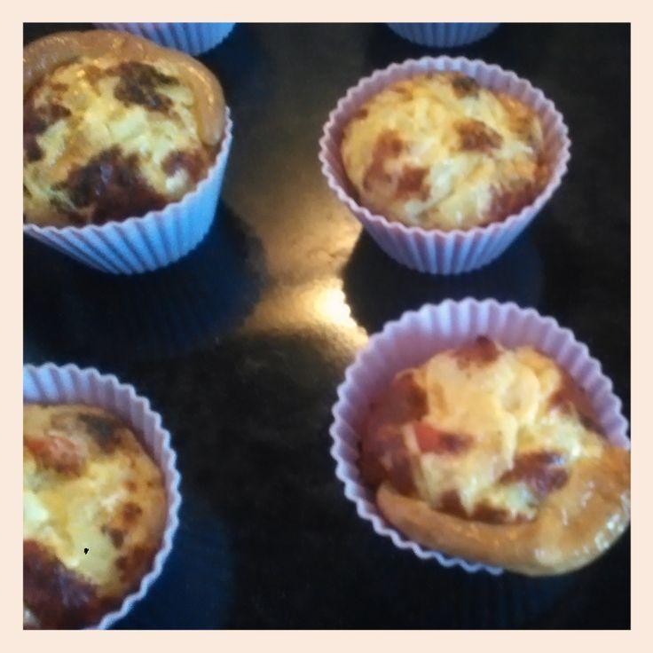 Muffin tojásrántotta