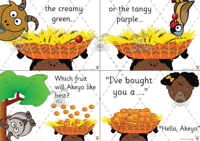 Teacher's Pet - Handa's Surprise Sequencing Cards - Premium Printable Game / Activity - EYFS, KS1, KS2, Africa, Eileen. Browne, Handa, Afric...
