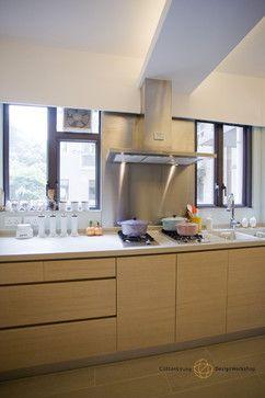 Ewan Court - A Natural, Timeless Home Design - contemporary - Kitchen - Hong Kong - Clifton Leung Design Workshop - CLDW.com.hk