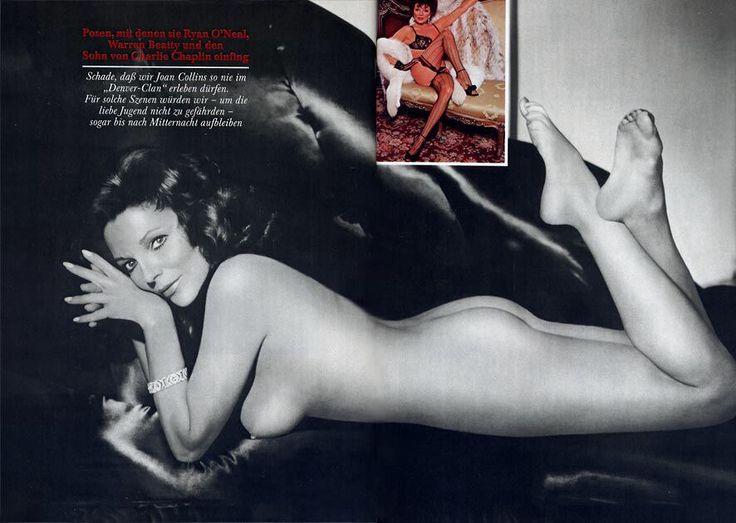 Joan collins nude mature women