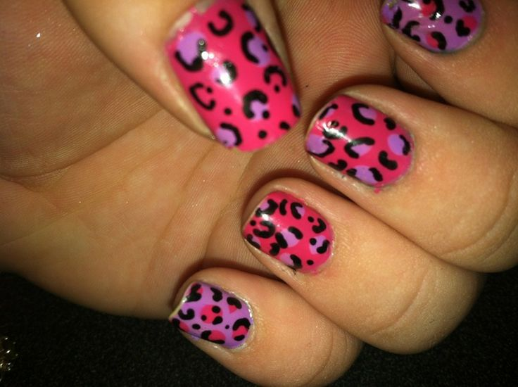 28 best nail designs images on pinterest cheetah nail designs nice 13 cheetah print nails httpdesignsnext prinsesfo Images